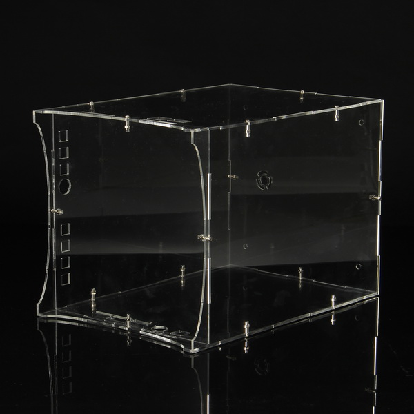 Active Components Electronic Components & Supplies Enthusiastic 1 Set Diy Transparent Acrylic Module Case Housing For Wifi App 8x8x8 3d Light Cube Kit Neither Too Hard Nor Too Soft