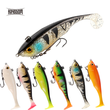 Kingdom Lure Leaded Head For Soft 170mm 55g Sinking Multiple Uses peche leurre souple Silicone Fish 8803