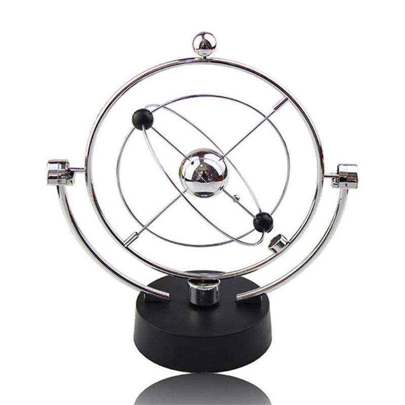 Электрическая колыбель Newtons, стальной Балансирующий шар, физика, искусство, настольное обучение, развитие искусства