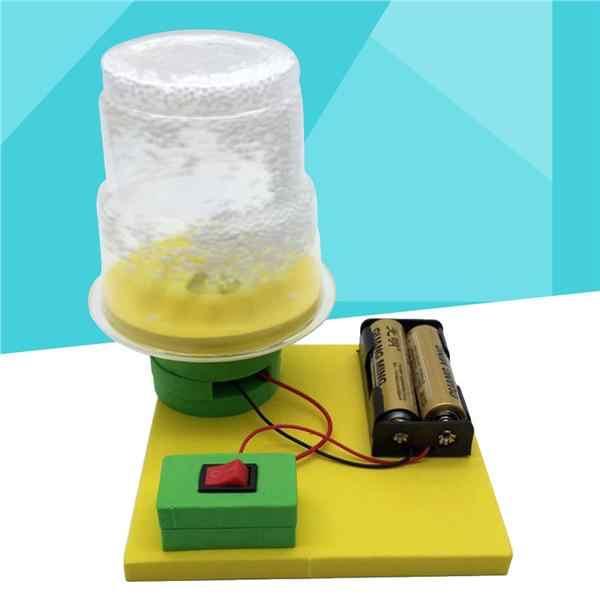 DIY montage spielzeug kinder wissenschaft experiment kits elektrische elektro schnee pädagogisches spielzeug für Physik lehre