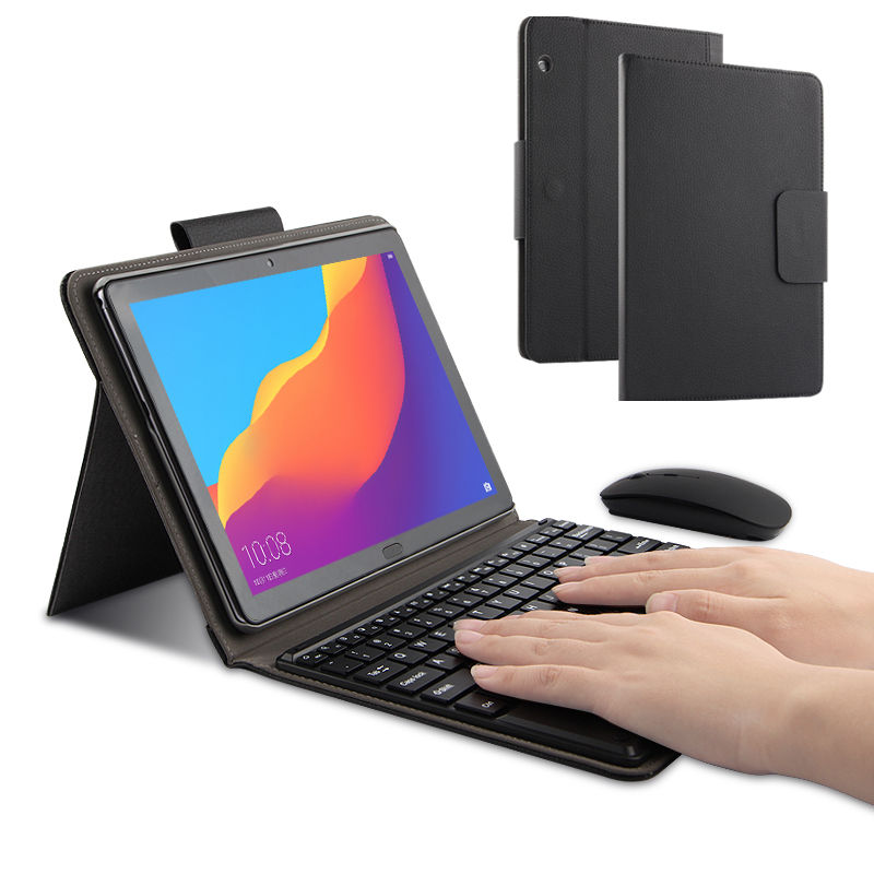 Case For Huawei MediaPad T5 10 Protective Cover Bluetooth keyboard Protector PU Leather AGS2 L09 L03