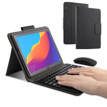 Case For Huawei MediaPad T5 10 Protective Cover Bluetooth keyboard Protector PU Leather AGS2-L09 L03 W09 W19 10.1