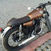 Motorcycle Cushion Modified Retro Locomotive Seat Cushion For CG125 And Other Series Hump Shape Seat Cushion