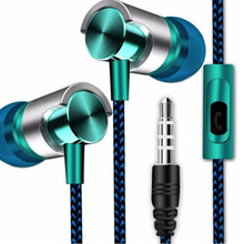 Professional In-Ear Earphone Support Sport Music Stereo Earphone With Multiple Color  Portable For Phones Computers Tablets MP3