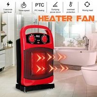 2000W Oscillating PTC Ceramic Heater Fan Safe Electric Household overheater Moving Head Heater Home Office Warmer