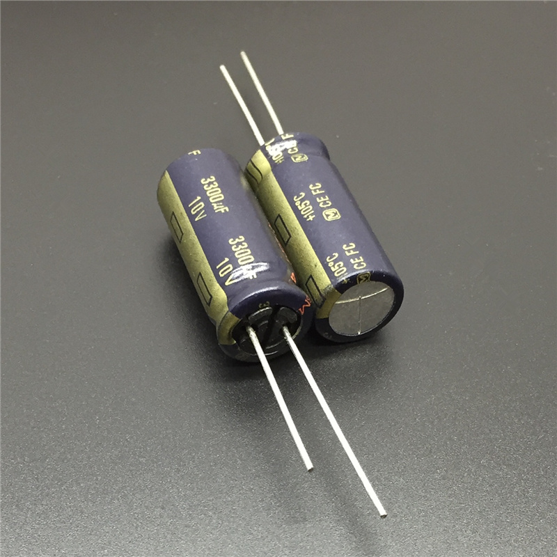 100pcs 10V 3300uF 10V ELNA RJH 12.5x35mm Super Low Impedance Audio Capacitor