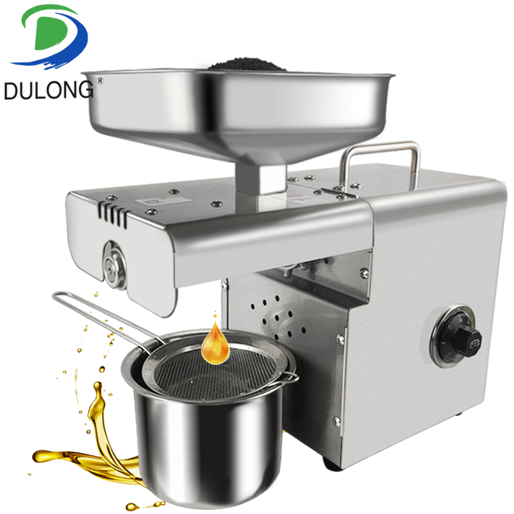 Mini Cold And Hot Oil Press Machine Coconut Oil Expeller Sesame Oil Making Machine Prickly Pear Seed Oil Extraction Machine