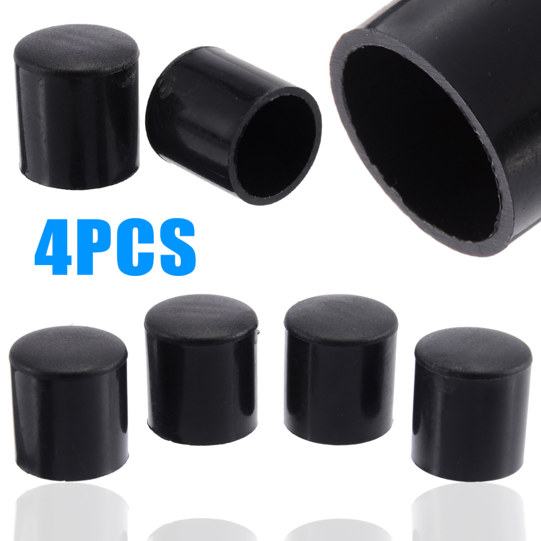 Shellhard 4pcs PE Plastic Furniture Feet Leg Floor Protector Caps Chair Cover Anti Scratch 16mm/19mm/22mm/25mm BlackShellhard 4pcs PE Plastic Furniture Feet Leg Floor Protector Caps Chair Cover Anti Scratch 16mm/19mm/22mm/25mm Black