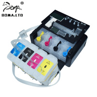 BOMA.LTD Continuous Ink Ciss System For HP10 82 For HP 500 800 815 Printer For HP 10 82 CISS With Cartridge Auto Reset ARC Chip