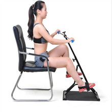 Indoor steppers with Adjustable Handle Hand and foot rehabilitation equipment Home Fitness bicycle Mini Cycling Bikes D101802
