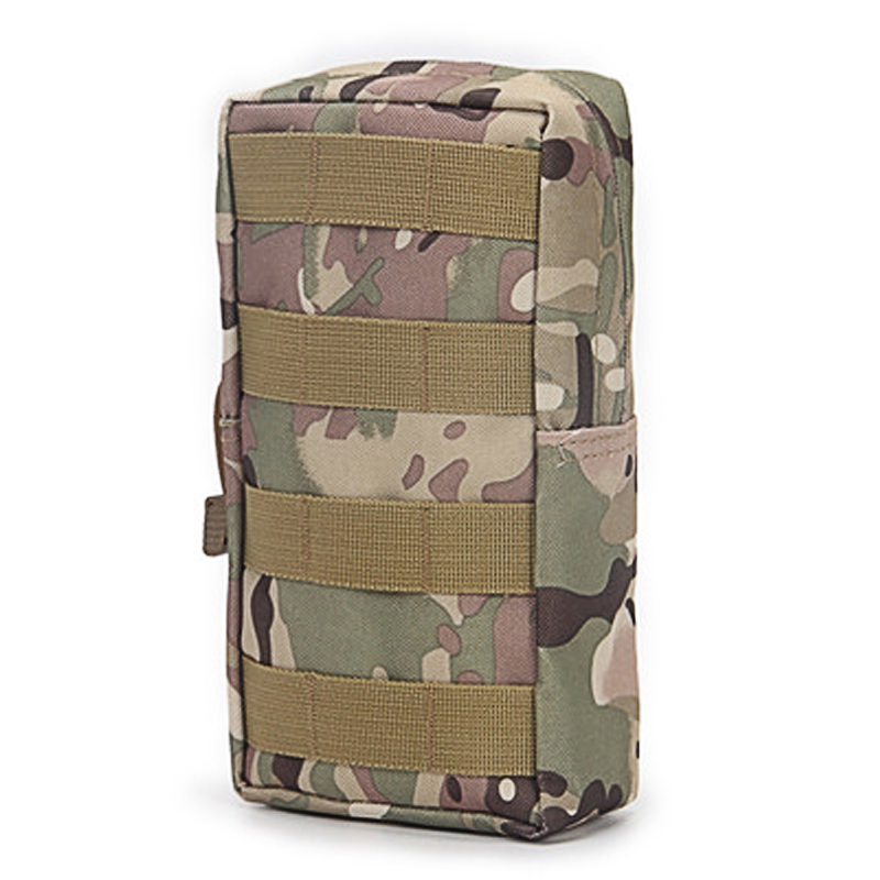 Waterproof Tactics Small Zipper Bag Outdoor Army Fan MOLLE System Accessory Bag Tactical Pocket Bag