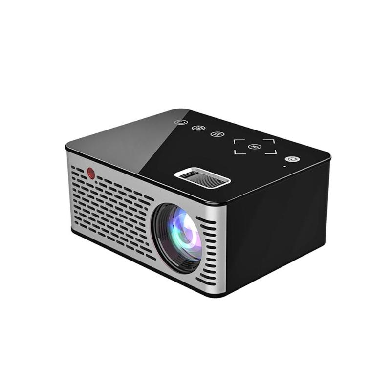 LED 1080P Mini Portable LCD Projector HD Built-in Speaker AV/USB/HDMI/DC Multimedia Interfaces for Home Cinema TV Theater VideoLED 1080P Mini Portable LCD Projector HD Built-in Speaker AV/USB/HDMI/DC Multimedia Interfaces for Home Cinema TV Theater Video
