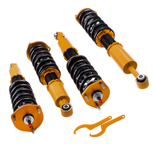Coilover השעיה ערכת fit לקסוס XE10 IS200 IS300 XE10 GXE10 JCE 01 05 מנחת הוא 300 Sportcross עגלת 97 05 מתכוונן. וdampering
