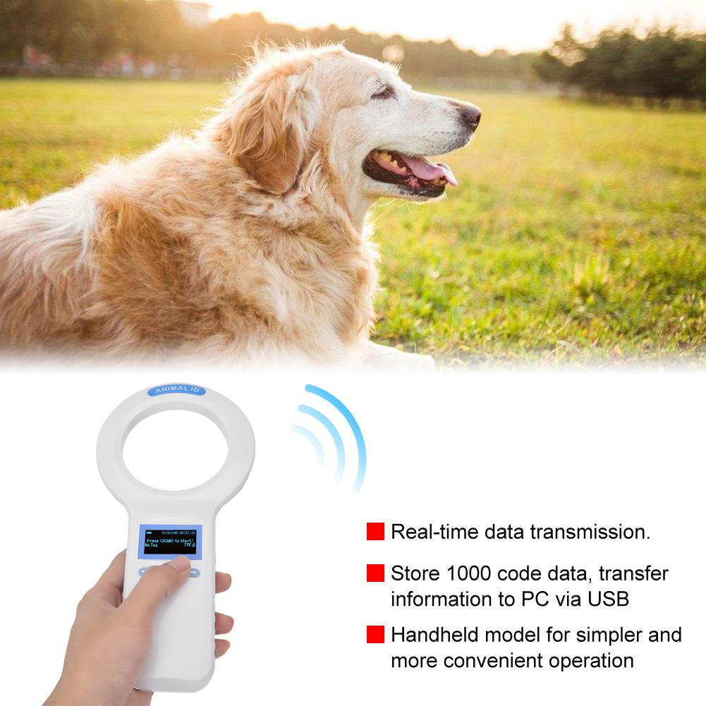 Rfid Ear Tag Reader Handheld Pet Microchip Portable Animal Scanner 134.2khz 2019 New Be Shrewd In Money Matters Control Card Readers Access Control