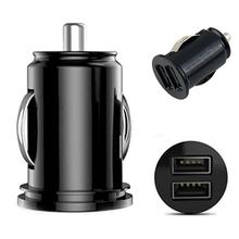 12V Car Truck Auto 2 Port Dual USB Ports Mini Charger Adapter for-iPhone Tablet Car Charger USB  Charger Fast Charger New Hot 2 1 car charger with dual usb ports