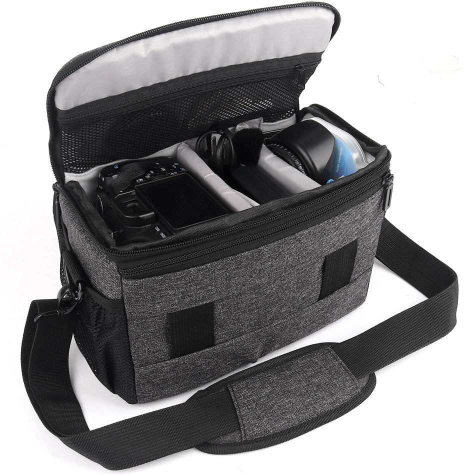 Photo-Backpack Handbag Lens-Case Camera Shoulder-Bag Sony Nikon Waterproof Canon  title=