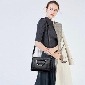 Image 2 - 2019 נקבה Messenger שק עיקרי גבירותיי תיק יד נשים עור תיקים באיכות גבוהה נסיעות כתף תיק Bolsa Feminina חדש