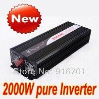 2000W pure sine wave inverter 24v 220v 60hz power supply peak 4000W DC12V 24V 24V 50Hz