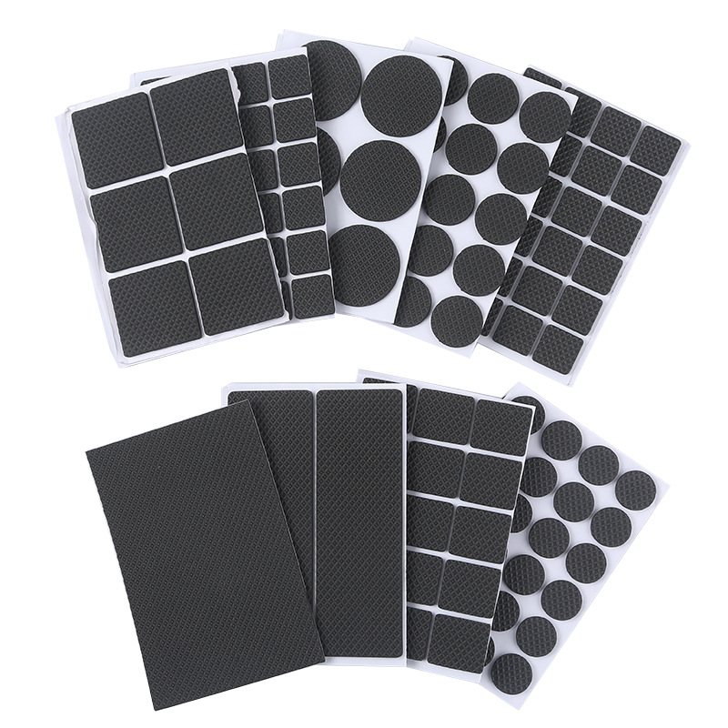 Aprince Sofa Chair Table Non-Slip Self-Adhesive  Leg Gaskets  Furniture Leg Protection Pad  Round / Square  Wear Pad