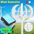 100 w/200 w/300 w/600 W 12 24 V Vertikale Achse Wind Turbine Generator VAWT boot Garten mit Controller Hause Wohn Verwenden