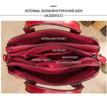 Double Zipper Totes Handbags  4
