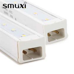 Smuxi T5 светодиодный трубка 28 см 3 W светодиодный жесткая прокладка трубки бар свет SMD 2835 белый/теплый белый Светодиодный лампа освещения Decor