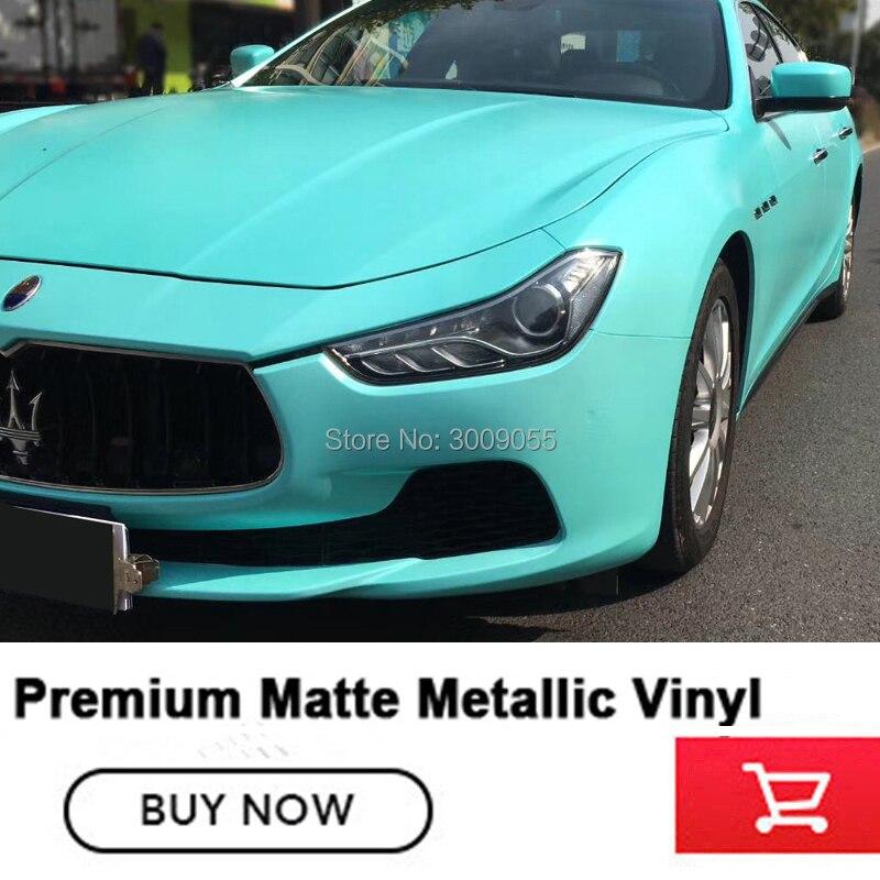 Métal vinyle Premium mat métallisé vinyle enveloppe perle métal taille 5ft X 65ft/rouleau couleur allemagne retour colle