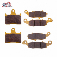 3pair Front Rear Motorcycle Brake Pads For SUZUKI GSF 650 SK5/SK6 Faired BanditNon ABS GSF 650 K5/K6 Naked Bandit Non ABS 05 06