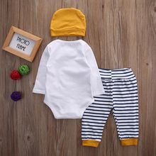 Kids Baby Boy Clothes Romper Outfits Set