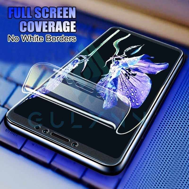 9D Full Screen Protector on the For Huawei  Mate 20 X 10 P20 Lite Pro 0.15mm Soft Hydrogel Film For Huawei Honor 8x 7X 9 10 Film