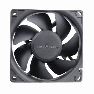 Image 2 - 2 stuks Gdstime 80mm AC 110 V 115 V 120 V 220 V 240 V Fan 80mm x 25mm 8 cm EC Borstelloze Cooling Koeler Ventilator Axiale Ventilator