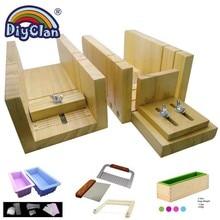 Wooden Soap Cutter Box Handmade Loaf Cutting Tools Multifunctional Beveler Planer Making Diy Mold