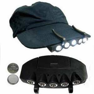 Clip-Light Fishing-Cap Cycling Lighting-Headlight -1227 Headlamp Led-Hat Hiking