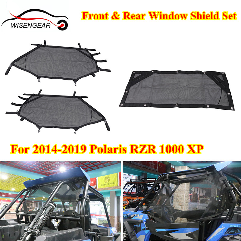 900 XC Roll Cage Mesh Guard for Polaris RZR 570 XP Turbo Black RZR Shade Nets RZR-S 1000 UTV Window Net RZR 900 RZR 800 RZR 1000 RZR Shade Nets RZR-S 900 XP 1000