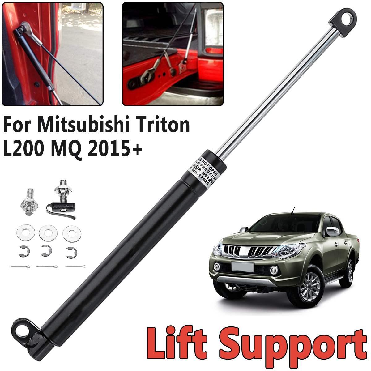 Rear Liftgate Tailgate Slow Down Aluminium Shock Gas Strut For Mitsubishi For Triton L200 MQ 2005-2019