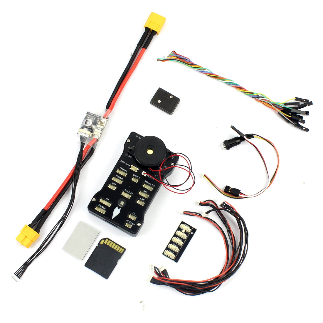 DIY RC FPV Drone Kit 4-axel Quadcopter med F450 450 Ram PIXHAWK PXI