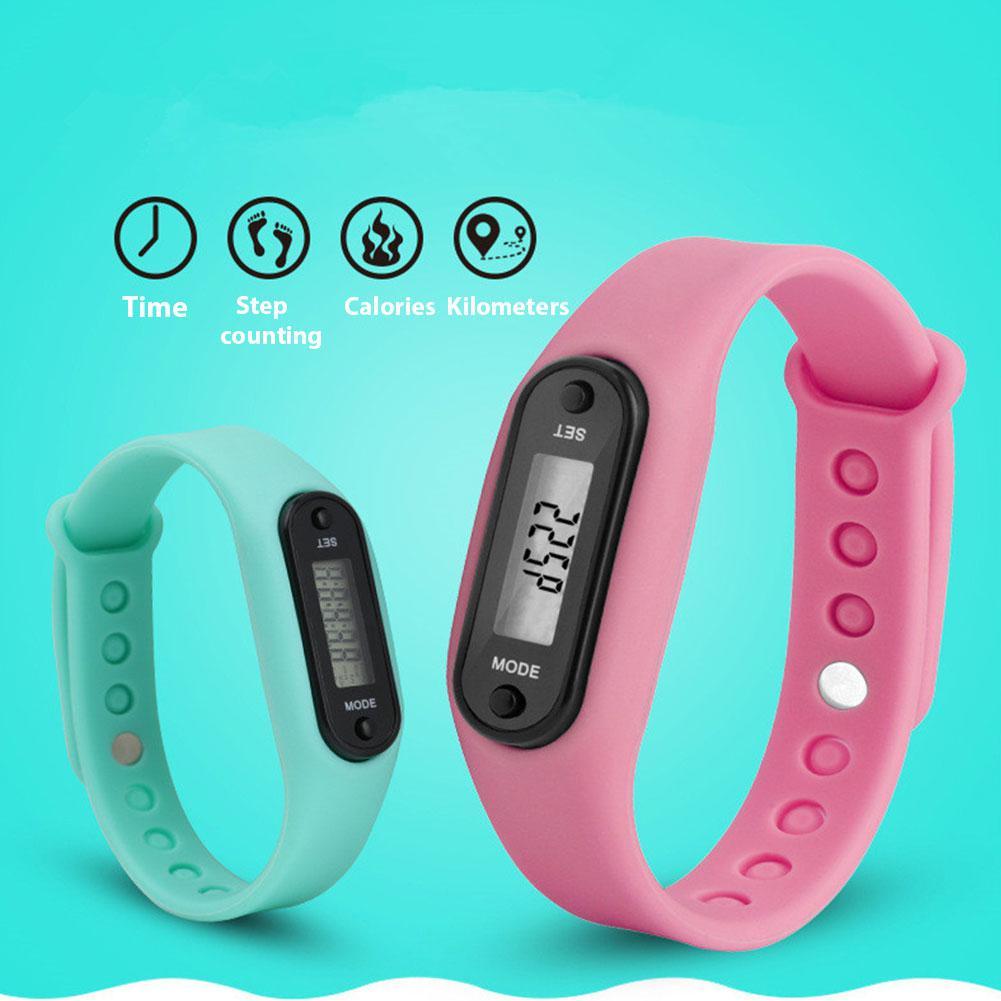 LinTimes Unisex Women Men Wristwatches Fashion Outdoor Simple Sports Red LED Digital Bracelet Watch