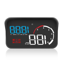 цены Car HUD Head-Up OBD2 Warning RPM Water temperature Voltage Fuel consumption Over speed alarm