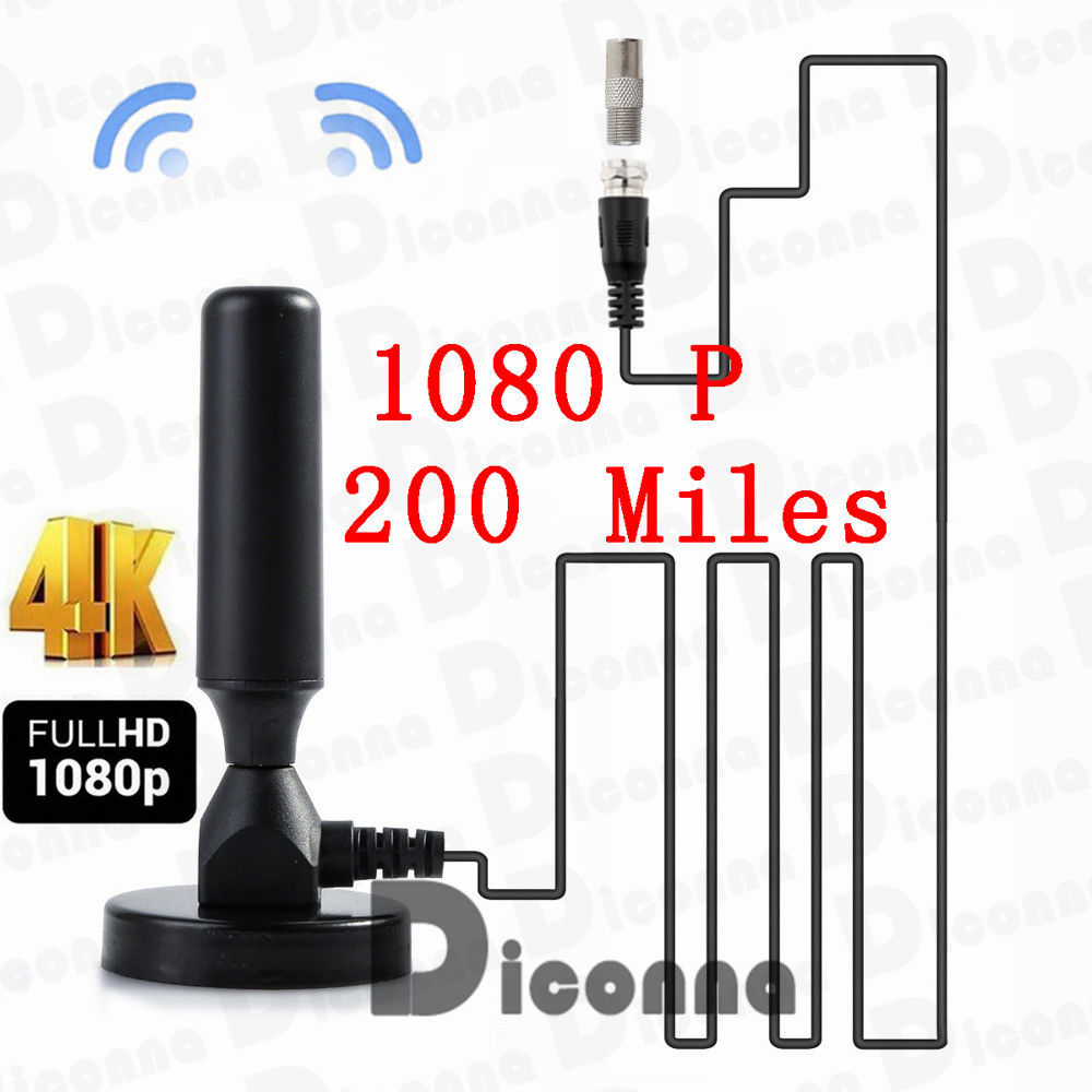 30dBi Indoor Gain Digital DVB-T//FM Freeview Aerial Antenna Amplifier for TV HDTV