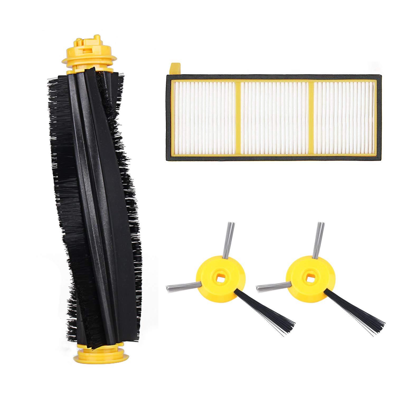 Provided Full Replenishment Kit 2 Side Brushes,1 Main Brushroll,1 Filter For Shark Ion Robot Rv700 Rv720 Rv750 Rv750c & Rv755 Home Appliances