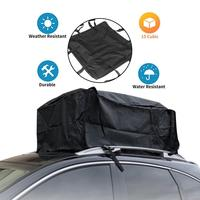 80X80X40CM Car Waterproof Cargo Roof Bag Car Rooftop Cargo Carrier Bag Soft Rooftop Luggage Carriers With Straps