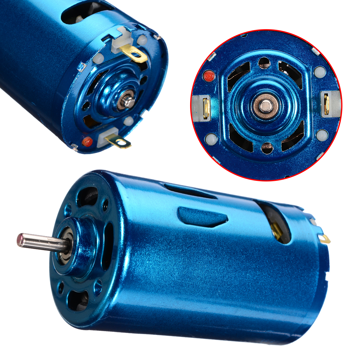 DC 12V 24V 30000RPM High Speed Large Torque DC motor For RC Car Boat Model Electric Tool DIY Motor Parts Durable