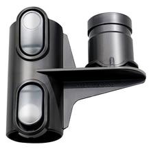 EAS-Storage Holder Bracket Head For Dyson DC58 DC59 DC62 V6 DC35 DC45 Vacuum Cleaner Brushes Parts Accessories 3pc недорого