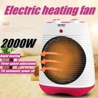 2000W Mini Electric Air Heater Powerful waterproof Warm Blower Fast Heater Fan Stove Radiator Room Warmer For Home Office