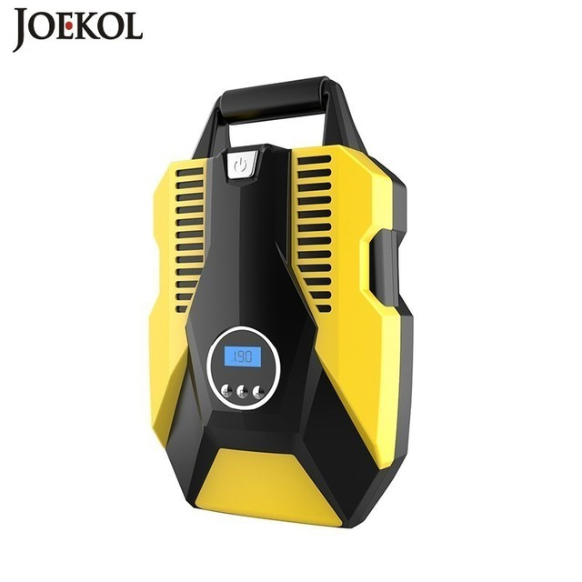 Digital Display Car Inflatable Pump 12V/220V Auto Car Air Compressor Vehicle Tire Inflator Pump For Car Motorcycles Bicycles