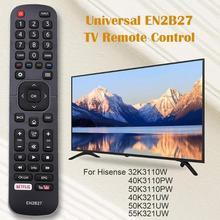 EN2B27 zamiennik pilota do telewizora dla Hisense 32K3110W 40K3110PW 50K3110PW 40K321UW 50K321UW przydatne kontroler domu o przekazanie dalszych danych i