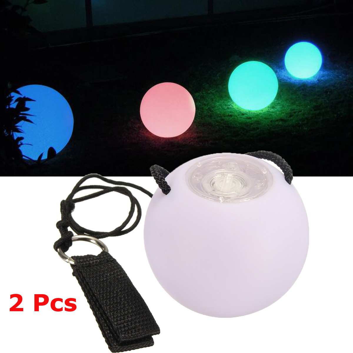 2 Pieces Balls Stage Performance LED POI Thrown Balls for Belly Dance Level Hand Props Belly Dance Accessories2 Pieces Balls Stage Performance LED POI Thrown Balls for Belly Dance Level Hand Props Belly Dance Accessories