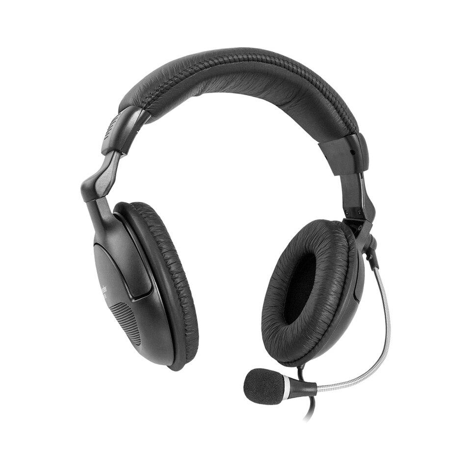 Купить со скидкой Компьютерная гарнитура DEFENDER Orpheus HN-898 черный, кабель 3 м