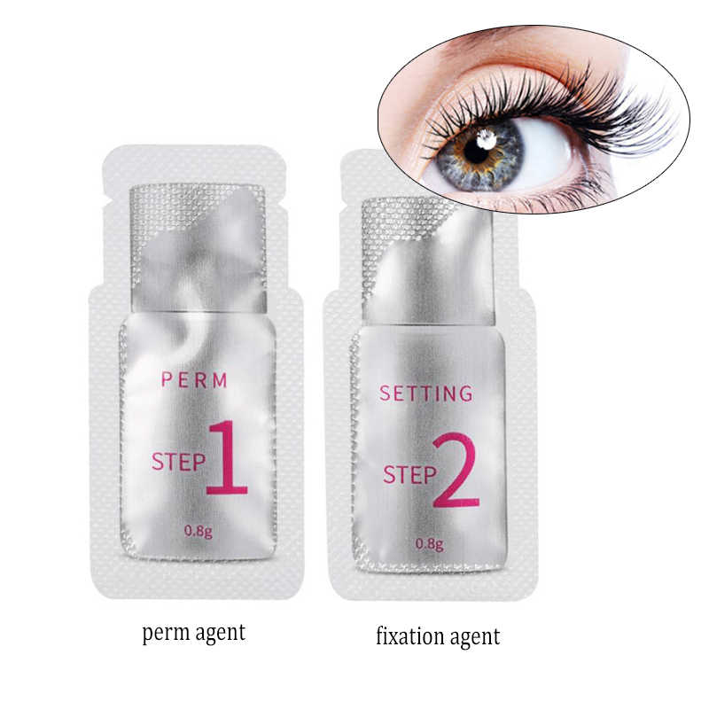 Professional Makeup Eyelash Perming Curling Fixation Agent For Eyelashes Curling Lift Curler Safe Eye Lashes Curl Perm Tool