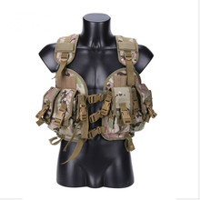 Outdoor Hunting Ciras Tactical Military Airsoft Vest Plate Carrier Unloading Chest Rig Bag Molle Camping Travel Sport Trecking 2